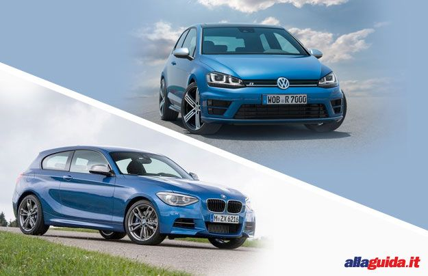 Volkswagen Golf R vs BMW M135i