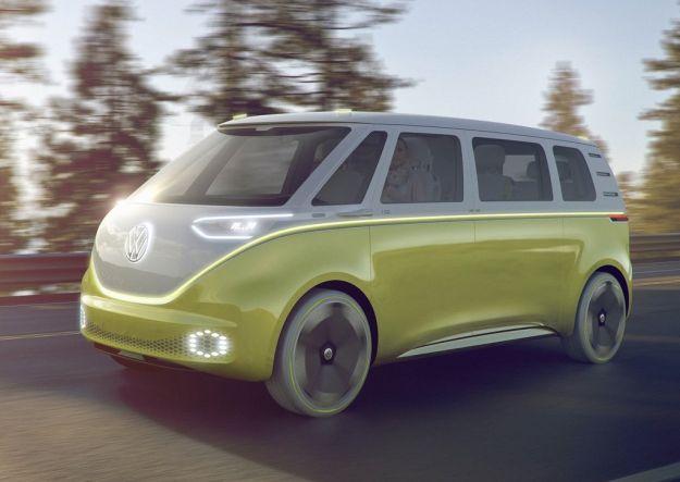 Volkswagen I.D. Buzz concept al Salone di Detroit 2017 [FOTO]
