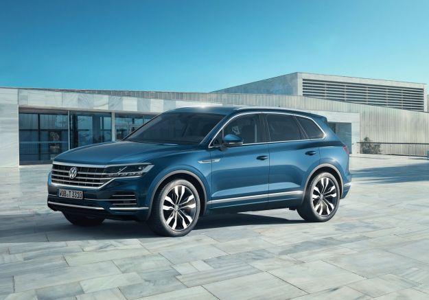Nuova Volkswagen Touareg: più grande ma più leggera e tecnologica