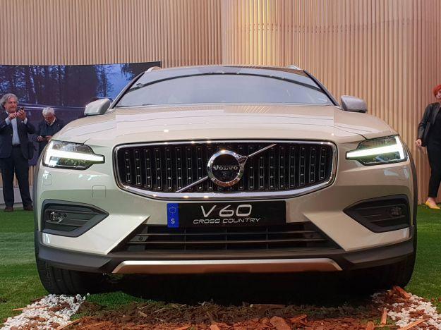 Volvo V60 Cross Country: svelata la wagon rialzata
