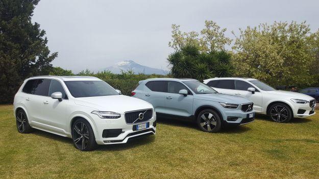La prova su strada della gamma Volvo XC
