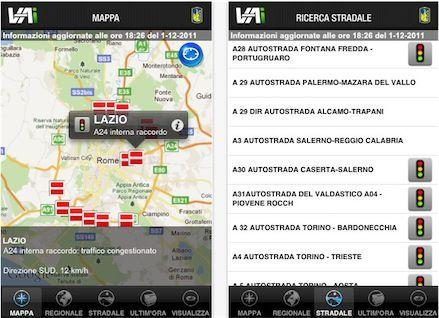 Vai, applicazione mobile Anas per informazioni sul traffico in tempo reale