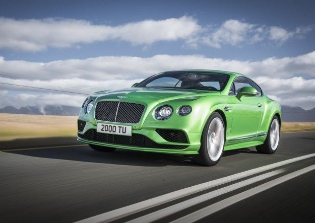 Bentley al Salone di Ginevra 2015 rinnova la gamma Continental GT [FOTO]