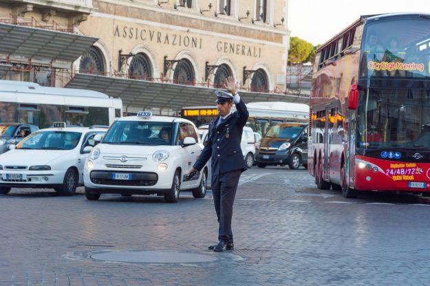 blocco traffico roma 2020