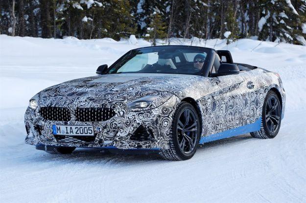 BMW Z4 Spider 2018: nuove foto spia, caratteristiche e prezzo