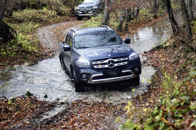 Mercedes Classe X: prova su strada, scheda tecnica e prezzi del pick-up con la stella [FOTO]