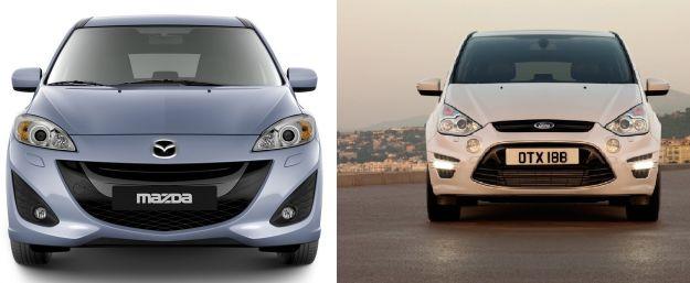 Ford S-Max VS. Mazda 5: confronto tra monovolume di grandi dimensioni [FOTO e VIDEO]