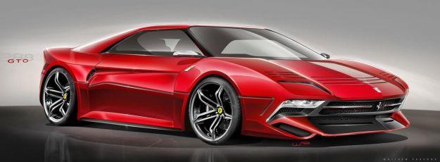 Nuova Ferrari 288 GTO 2020: render immagina il nuovo modello [FOTO]