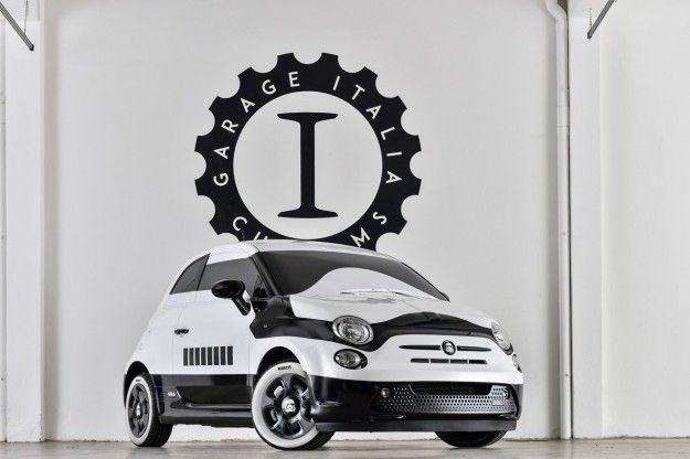 Fiat 500e Star Wars by Garage Italia Customs: a Los Angeles in bicolore [FOTO]