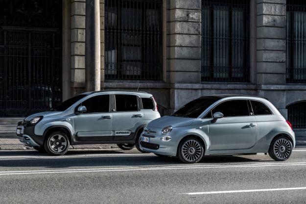 Panda e 500 diventano ibride, Fiat inizia la rivoluzione green
