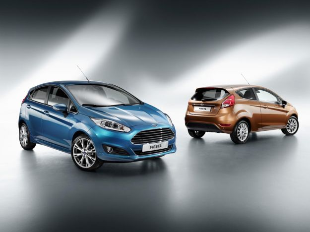 ford fiesta restyling 2013