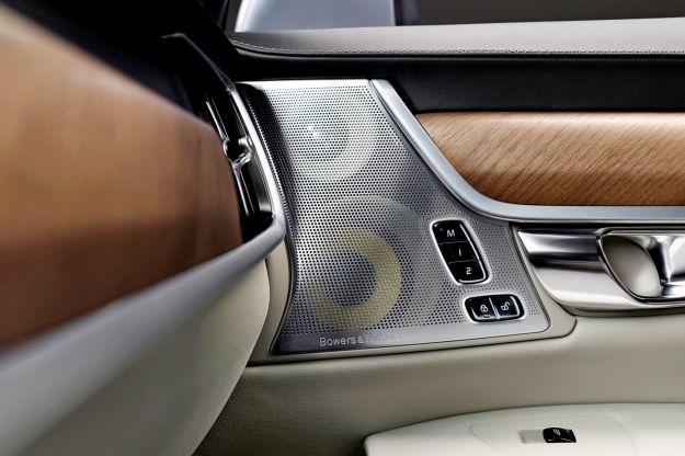 impianti audio auto Bowers & wilkins Volvo