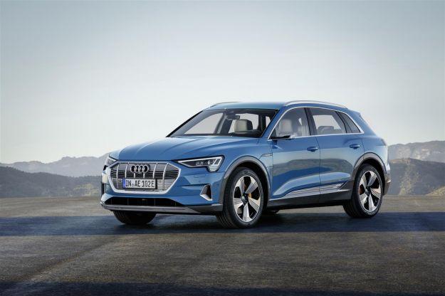 Audi e-tron: elettrico e sportivo il SUV dei Quattro Anelli