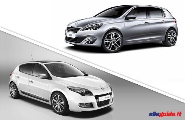 "Peugeot 308 VS. Renault Mégane: confronto tra francesi ""medie"" [FOTO e VIDEO]"