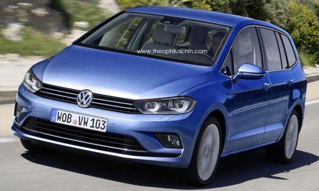Nuova Volkswagen Touran 2016: prezzo, dimensioni e motori [FOTO]