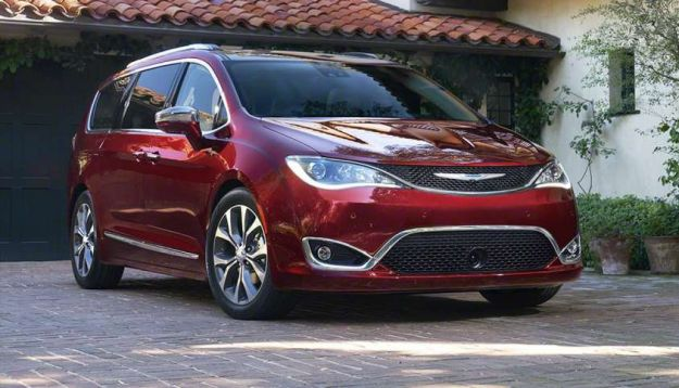 nuova chrysler pacifica 2016