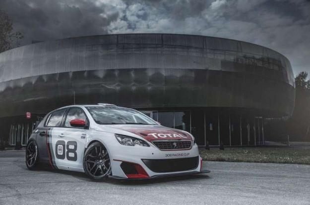 Peugeot 308 Racing Cup: Leone da 308 cavalli pronto per il WTCC [FOTO]