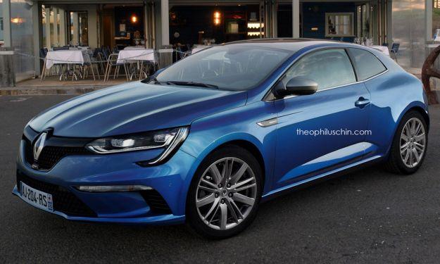 nuova renault megane coupe 3 porte
