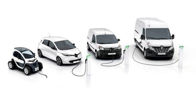 Renault Kangoo Z.E e Master Z.E.: i veicoli commerciali elettrici