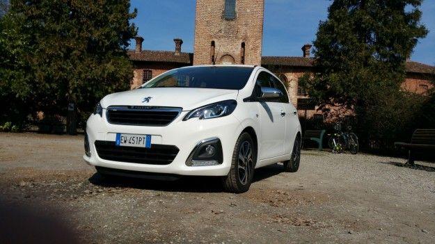 Nuova Peugeot 108: prova su strada, prezzo e dimensioni [FOTO]