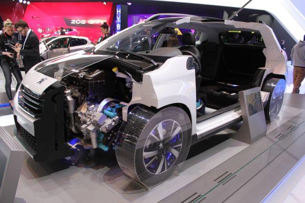 peugeot 2008 hybrid air meccanica