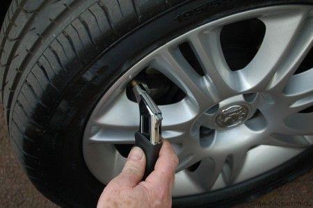 pneumatici auto pressione