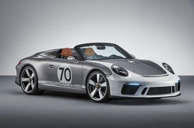 Porsche 911 Speedster Concept: 70 anni di Porsche, omaggio alla mitica 356