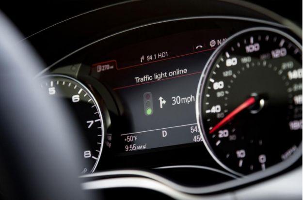 sistema audi traffic light, sincronizzazione semafori