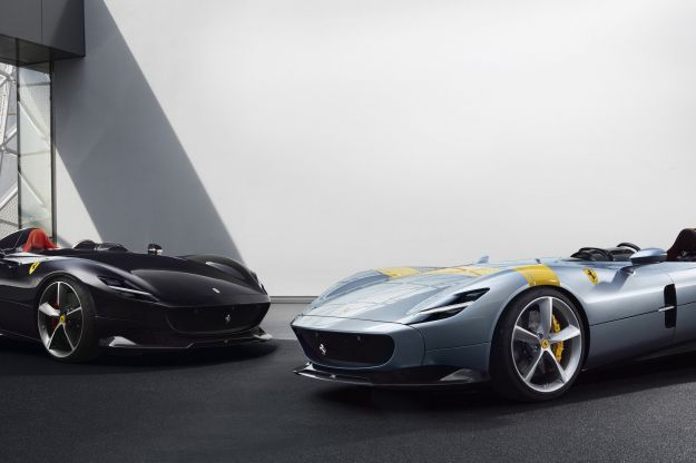 Ferrari Monza SP1 e SP2: ispirate al design del passato ma high-tech