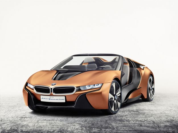 BMW i Vision Future Interaction Concept: l'interfaccia del futuro [FOTO]