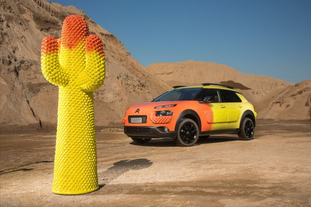 Citroen C4 Cactus Unexpected by Gufram alla Milano Design Week 2017 [FOTO]