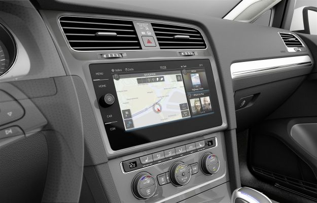 Infotainment Volkswagen Golf e touch