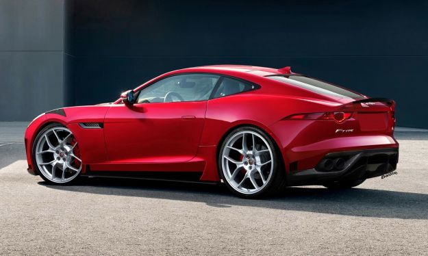 Jaguar F Type RS rendering