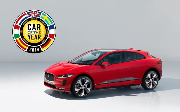 Jaguar I Pace Car of The Year