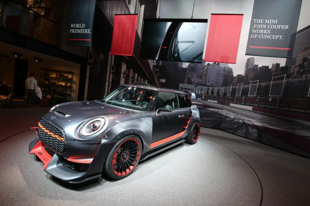 MINI John Cooper Works GP Concept al Salone di Francoforte 2017 (1)