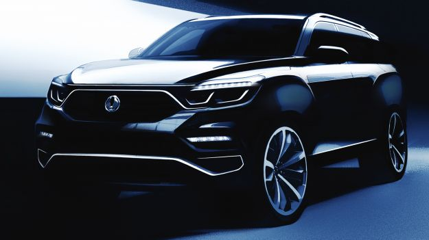 Ssangyong Y400 teaser