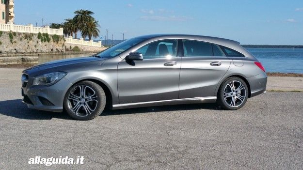 Mercedes CLA Shooting Brake: prova su strada, prezzo e dimensioni [FOTO e VIDEO]
