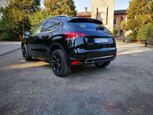 ds 4 crossback test drive