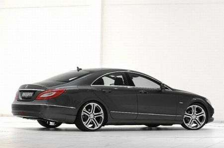 Mercedes CLS by Brabus - fiancata