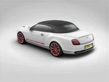 Bentley Continental Supersports Convertible ISR - poste