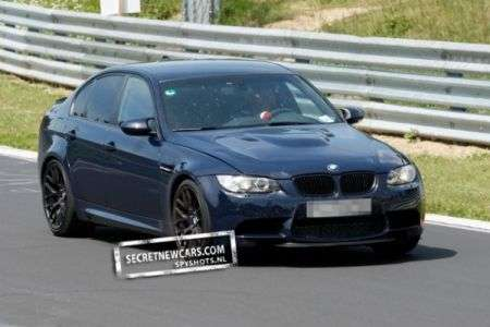 BMW M3 foto spia test