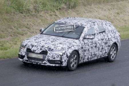 Audi A4 restyling anteriore