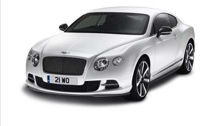 Bentley Continental GT Mulliner Styling Pack anteriore