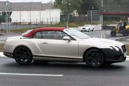 Bentley Continental GTC restyling fiancata