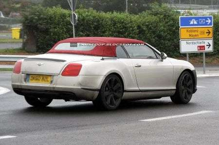 Bentley Continental GTC restyling retro