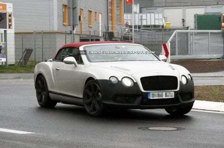 Bentley Continental GTC restyling test