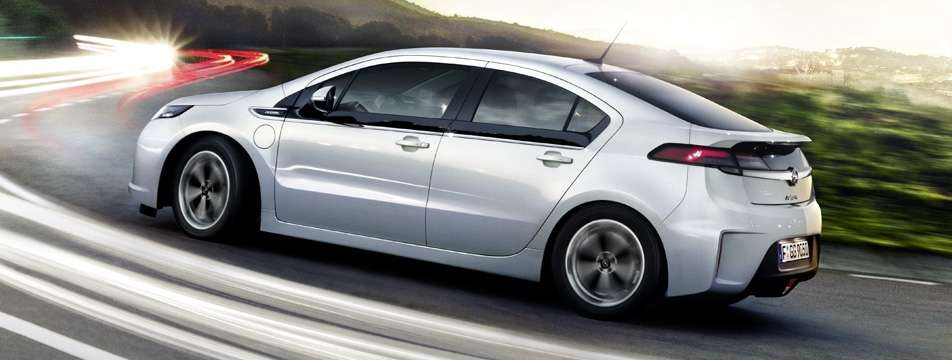 opel ampera - laterale