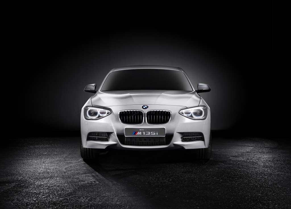 BMW M135 Concept, frontale