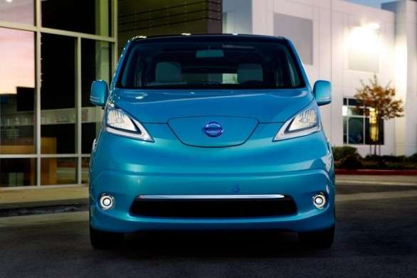 Nissan e-NV200 Concept, frontale