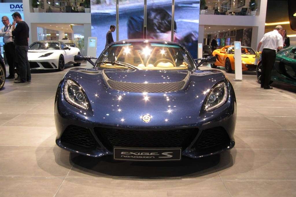 Lotus Exige S Roadster, frontale